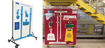 5S Cleaning Station